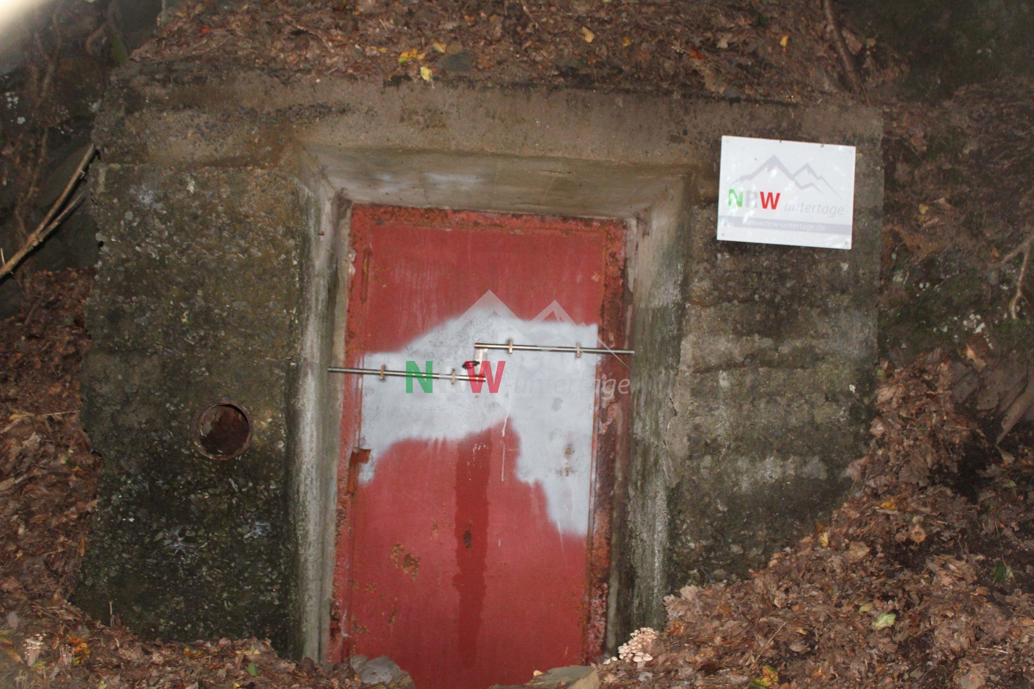 Bunker geschloßen Schladern