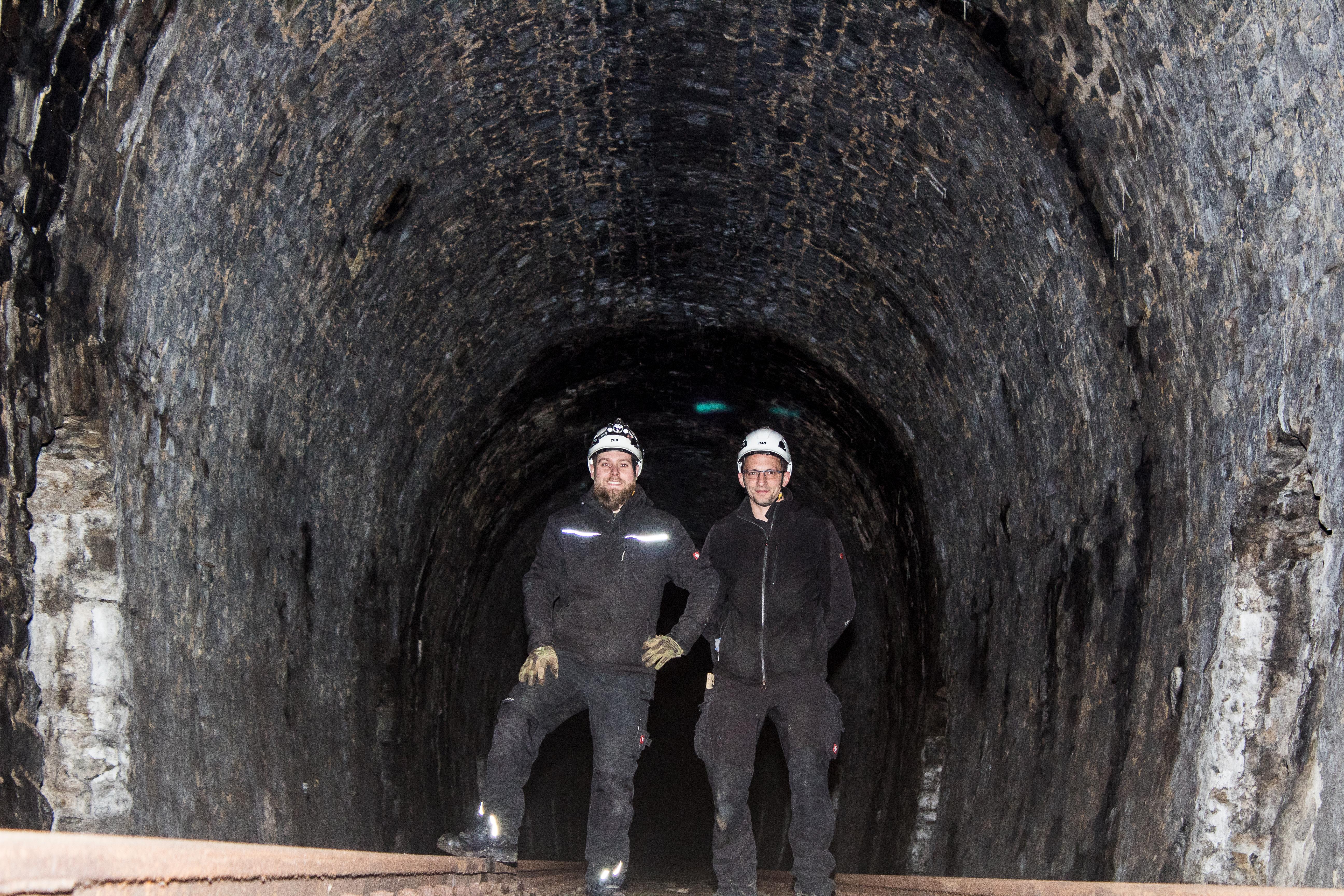 NRW-Untertage auf Tour 2019 im Tunnel